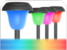 Color Changing Solar Light
